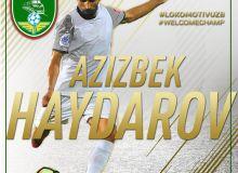 Transfer News. Aziz Haydarov completes a move to FC Lokomotiv from FC Bunyodkor