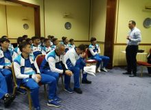 Uzbekistan U-23 national team finish Tashkent training camp