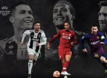 """УЕФА """"Йилнинг энг яхши футболчи"""" номинацияси учун якуний 3 номзодни эълон қилди"""