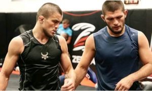 Умар Нурмагомедов UFC даги дебют жангини ўтказди (видео)