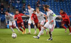 Испания бош мураббийи 2 бор пенальтидан гол уролмаган Рамос ҳақида нималар деди?