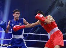 """Бокс: Абдумалик Халаков """"Губернатор кубоги""""да молдовалик боксчига қарши жанг қилди"""