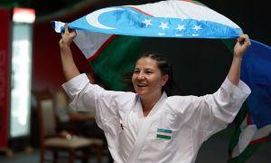Bakhriniso Babaeva gain the first gold medal for Uzbekistan in international karate competitions