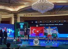 Узбекские тяжелоатлеты завоевали бронзовую медаль на ЧМ