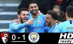 """""""Борнмут"""" - """"Манчестер Сити"""" 0:1 (видео)"""