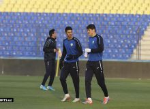 Национальная сборная Узбекистана провела официальную тренировку перед матчем с Палестиной (Фото)
