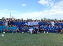 Руководство министерства спорта и АФУ ознакомилось с детско-юношеской академией Ташкентской области