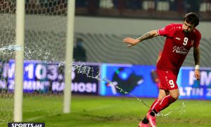 Dragan Ceran double earns FC Pakhtakor win over FC Navbahor in Namangan