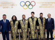 Представители Всемирной конфедерации этноспорта посетили Национальный олимпийский комитет