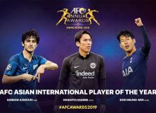 AFC Annual Awards Hong Kong 2019 nominees revealed