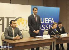 В Ташкент сити прошла пресс-конференция с участием представителя УЕФА (Фото)