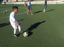 Юные игроки провели очередную тренировку в академии «Реала»
