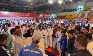 Наши молодые дзюдоисты принимают участие в Кубке Азии