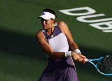 Гарбин Мугуруса проиграла в четвертьфинале турнира в Дубае