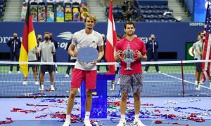 """US Open""да янги ғолиб. У 3 млн долларни қўлга киритди"
