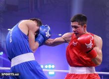 Photo Gallery. Nodirjon Mirzakhmedov manages to win the final contest against Ibrokhim Ishjonov