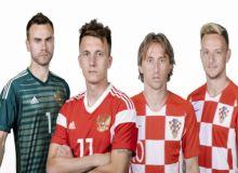 Россия - Хорватия. Тахминий таркиблар