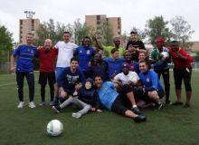 «Футбол для дружбы» состоялся футбольный мини-турнир среди национальных делегаций