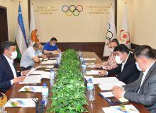 Обсуждены вопросы, по поводу создания теннисных клубов в Узбекистане