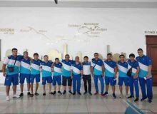 Uzbek Greco-Roman wrestlers leave for Asian Youth Greco-Roman Wrestling Championships