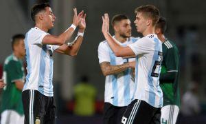 Аргентина - Мексика 2:0 (видео)