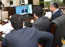 Представители Национального олимпийского комитета провели видео-заседание с Томасом Бахом