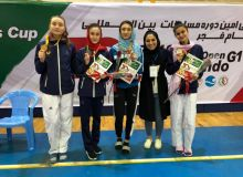 Uzbekistan's athletes earn five medals in the 3rd World Taekwondo President's Cup Asian Region