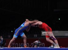 Photo Gallery. Javrail Shapiev unlucky to claim Olympic bronze medal