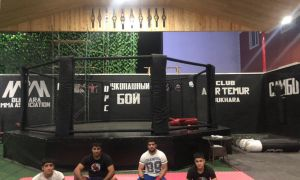 Muzaffar Rajabov has started a great project. A big MMA hall is being built in Bukhara