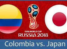 Колумбия - Япония. Онлайн трансляция (фото)