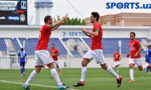 FC Lokomotiv player Kakhi Makharadze joins FC Sogdiana training sessions