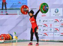 Муаттар Набиева завоевала две медали чемпионата Азии