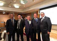 Состоялась встреча с министром по проведению Олимпийских и Паралимпийских игр в Токио Йошитака Сакурада