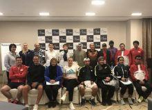 Женская команда Узбекистана по теннису участвует в FedCup