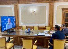 Президент АФУ Абдусалом Азизов принял участие в онлайн-встрече с президентами ФИФА, АФК и ассоциаций Центральной Азии