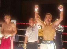 Профессионал боксер Узбекистана Хусниддин Пулатов одержал победу в Сеуле