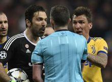 УЕФА Буффонни 3 ўйинга дисквалификация қилди
