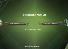 Сборная Узбекистана U-19 уступила Болгарии U-19 в товарищеском матче