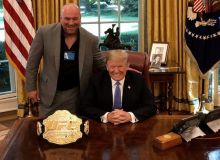 АҚШ президенти Дональд Трамп ва UFC раҳбари Дана Уайт нима ҳақида гаплашишган эди?