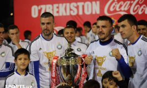 Photo Gallery. FC Pakhtakor crown Uzbekistan Super League championship