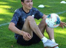 Отабек Шукуров приступил к индивидуальным тренировкам