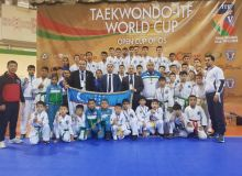 Uzbekistan's athletes earn 45 medals at the ITF World Cup in Belarus