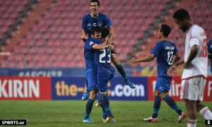 Uzbekistan power into AFC U23 Championship semi-finals in Thailand