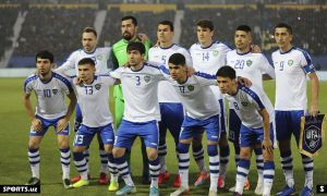 Uzbekistan national team off for UAE training camp