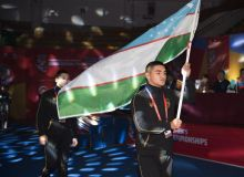Бокс: Амиршох Самадов эронлик рақибига хеч қандай имконият қолдирмади