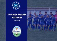Трансферы футбольного клуба «Шуртан»