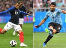 Уругвай - Франция. Онлайн трансляция (ФОТО)