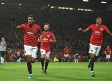 """""""Манчестер Юнайтед"""" ниҳоят """"Олд Траффорд""""да йирик ҳисобда ғалаба қозонди (видео)"""