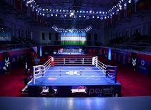 Бокс: Ўзбекистон чемпионатининг илк кунидан фотогалерея