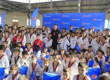 Олимпийский чемпион Улугбек Рашитов встретился с молодежью Бухары